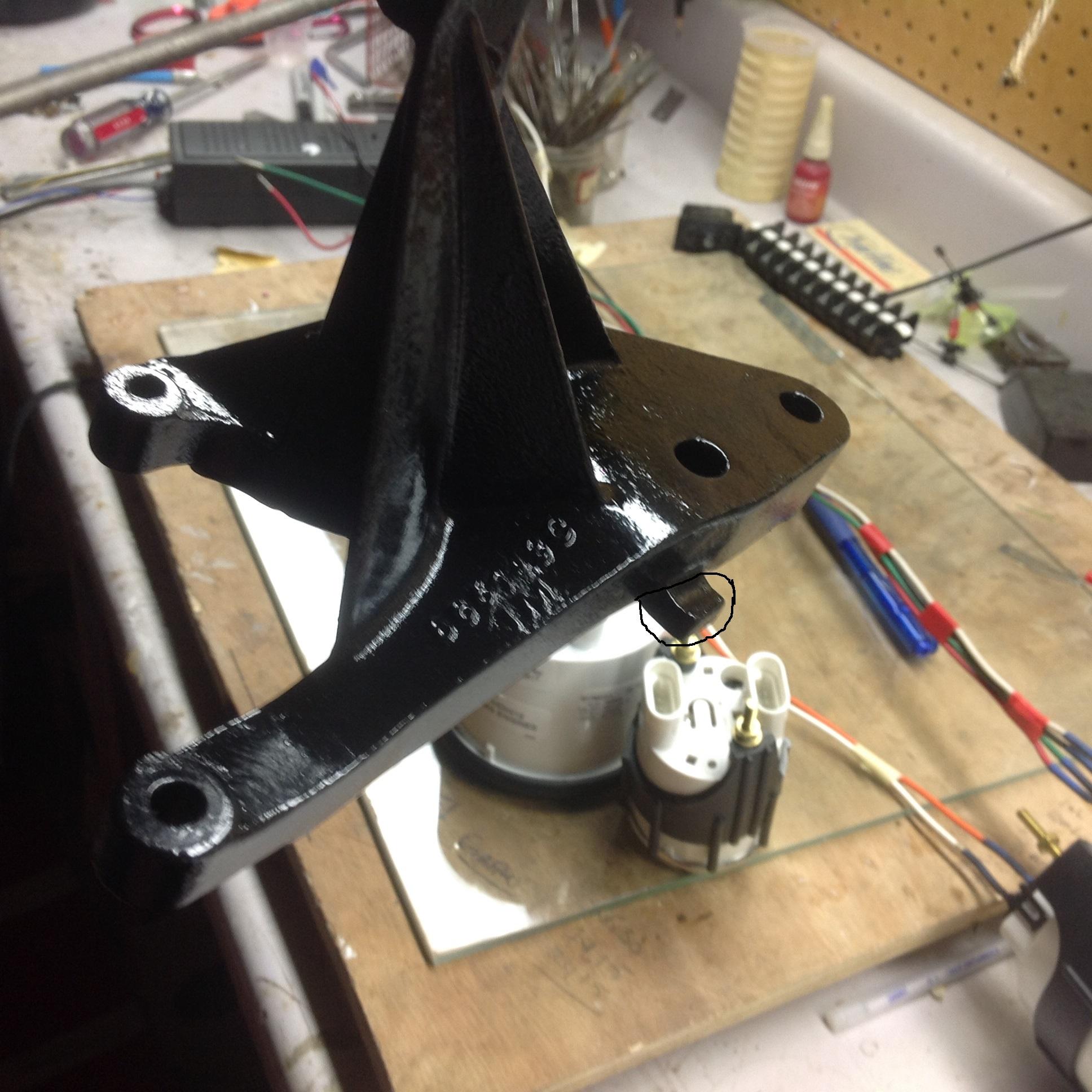 Mercruiser seawater raw water pump stainless steel wearplate repair - Craig
