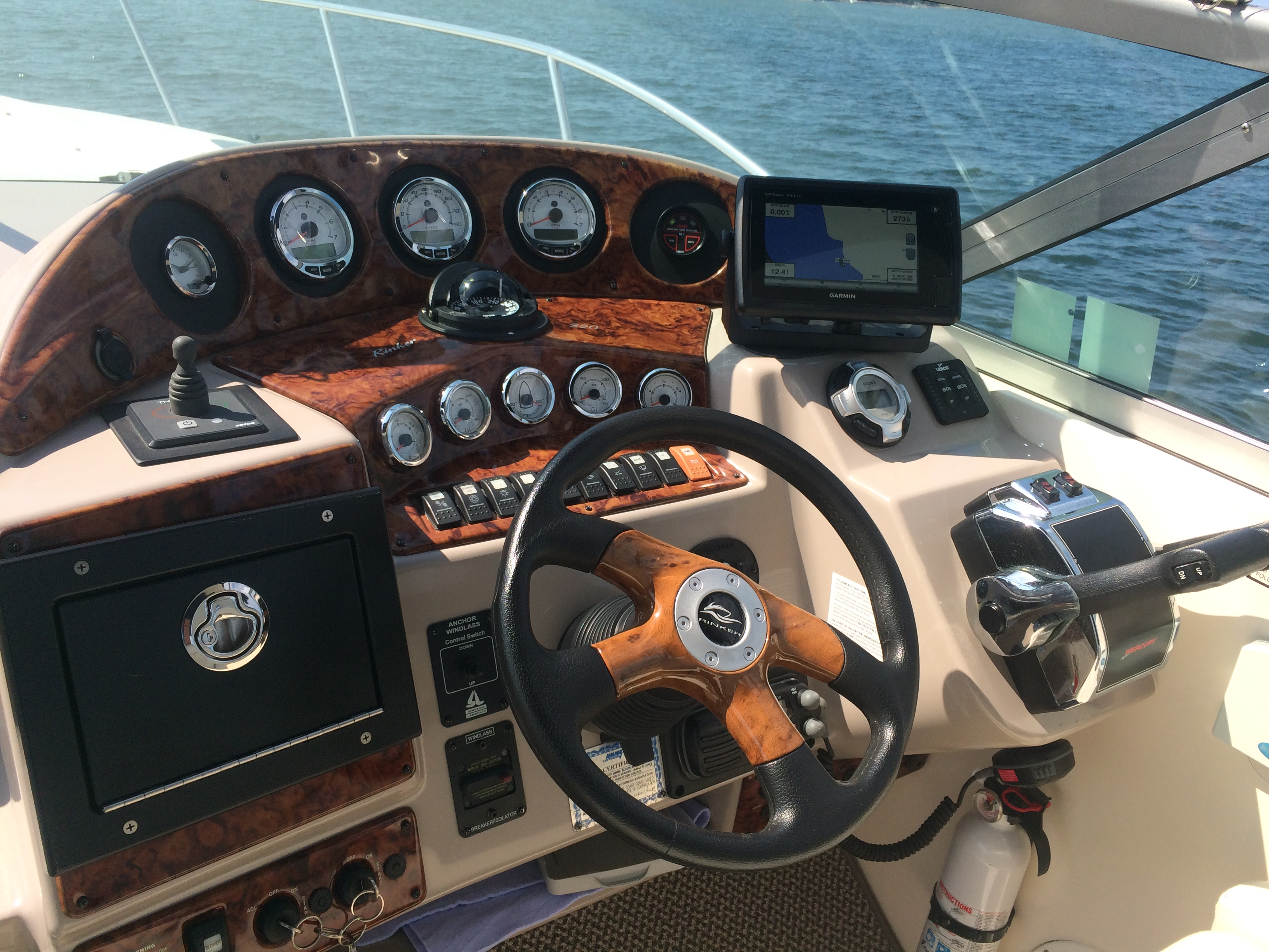 Faria Gauge Replacement — Rinker Boat Company
