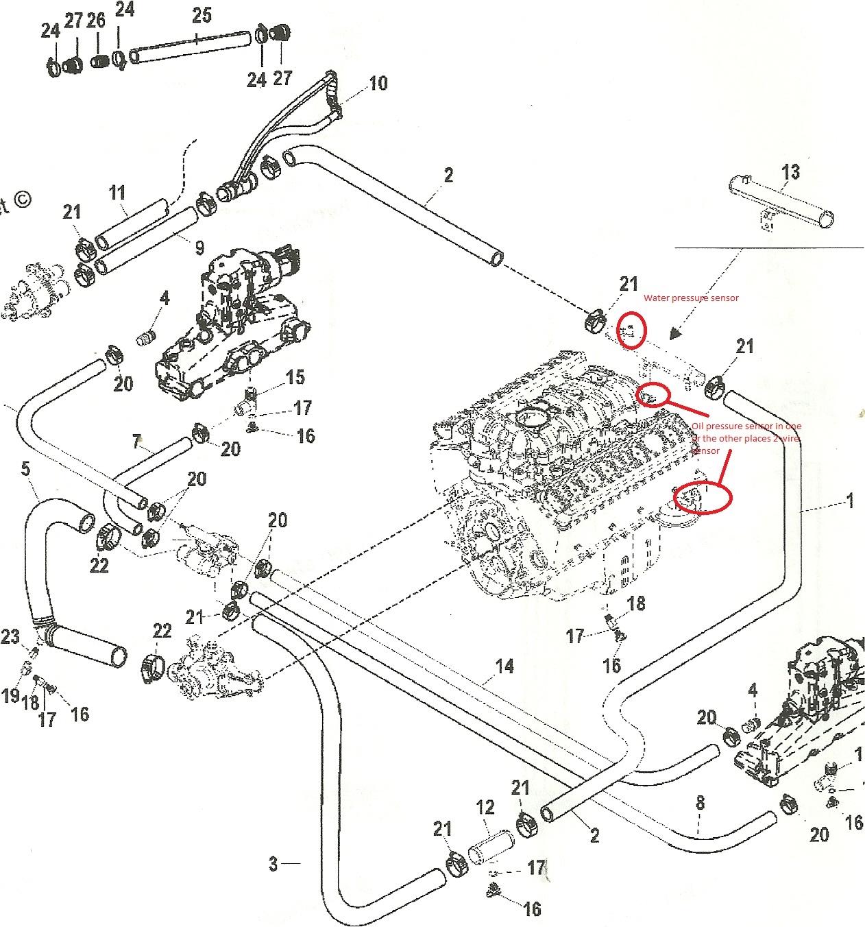 Mercruiser Oil Pressure Sensor Wiring Trusted Diagrams Gauge Diagram Water Circuit Symbols U2022 Starter