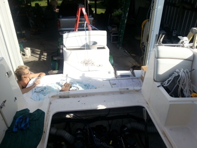 Bad coupler mercruiser 5 7 ?? — Rinker Boat Company