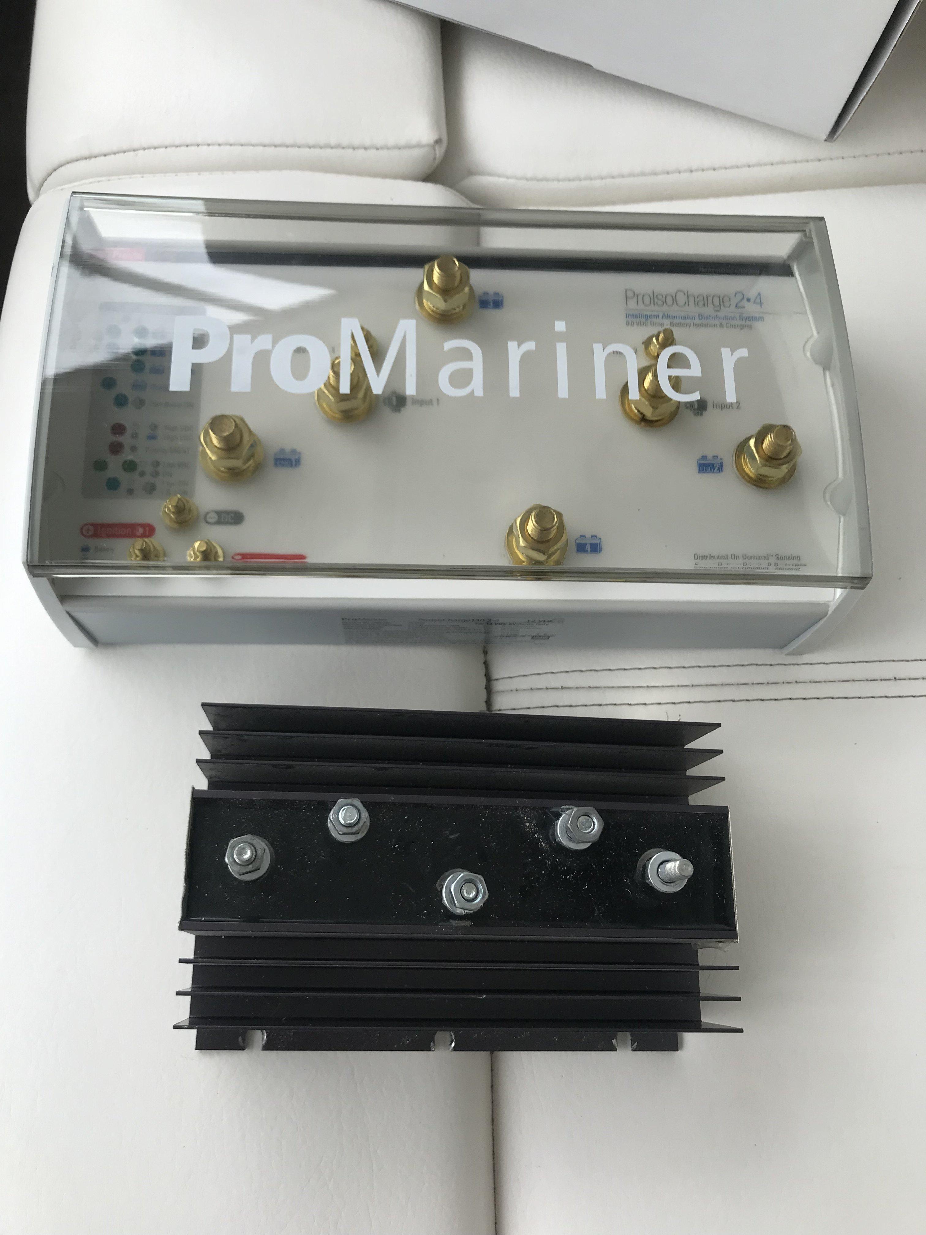 2 Battery Promariner Battery Isolator 70 Amp 1 Alternator