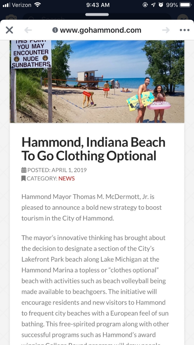 5 Beaches That Might be Clothing Optional in Michigan