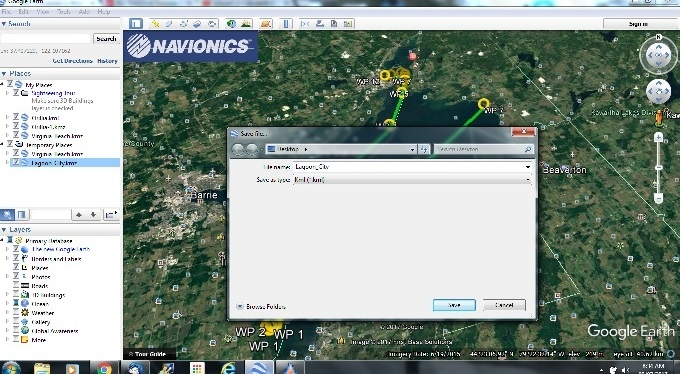 How To: Transfer Routes from Navionics App or Google Earth