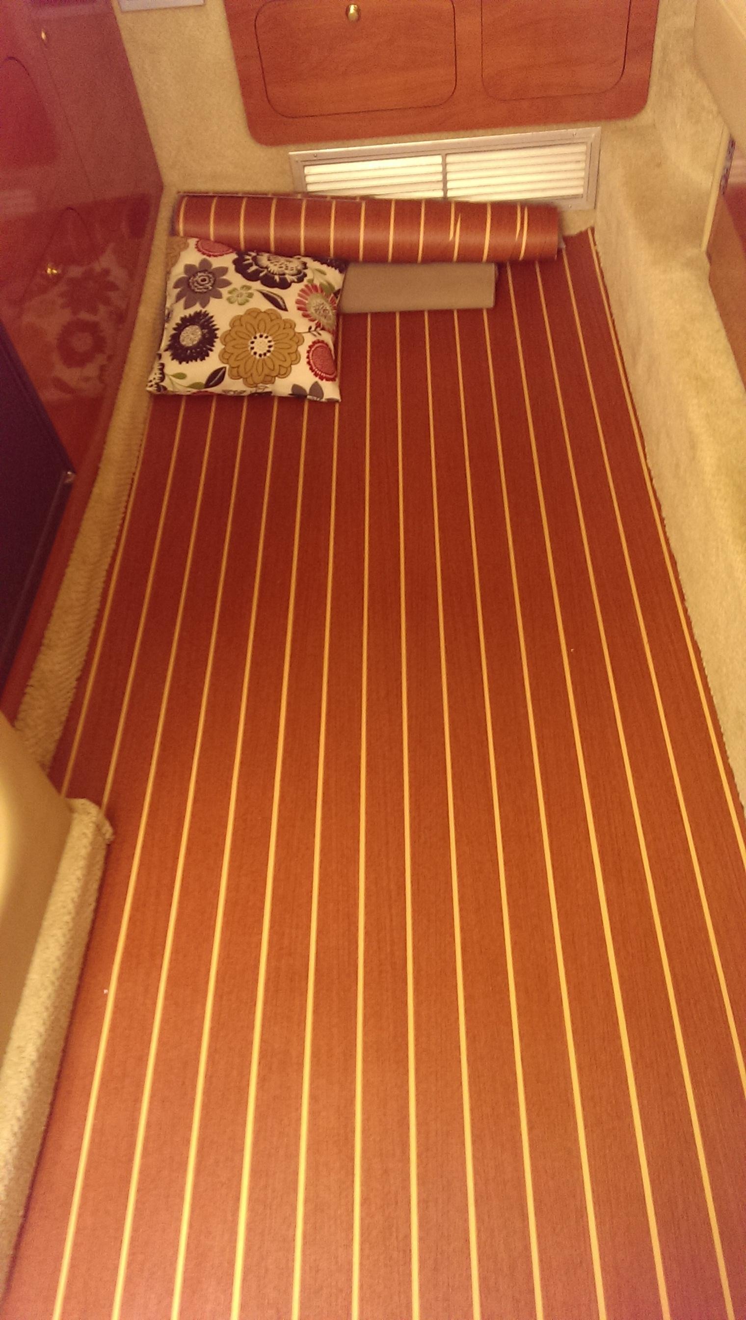 Vinyl Cabin Flooring Rinker Boat Company