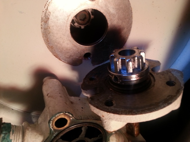 New Genny Problem  Water Impeller Does Not Turn And Pump