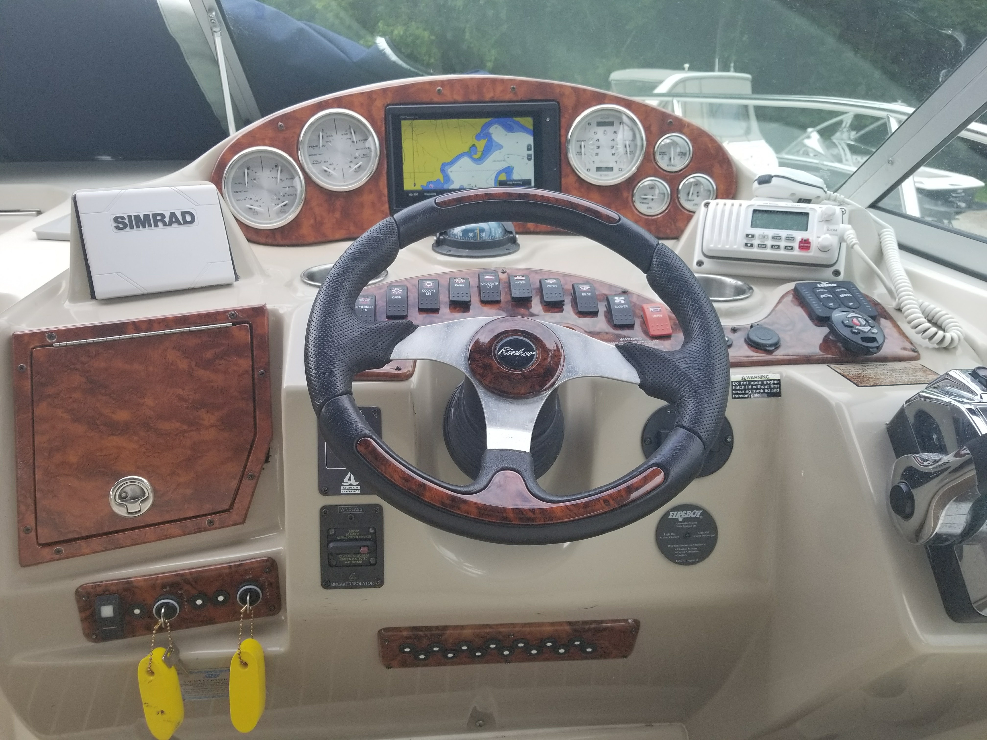 Hey Rinker I Redesigned Your Dash Hnt Hint You May Want To Mercury Smartcraft Speedometer Gps Wiring Its