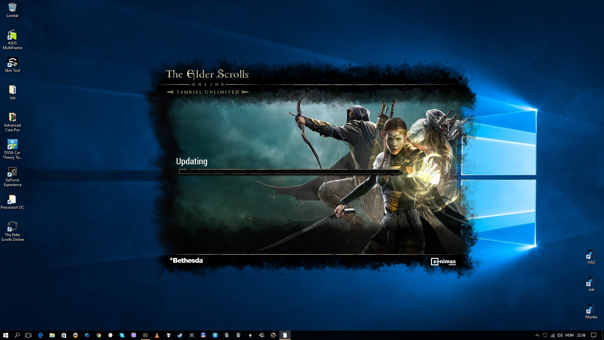 ESO PC/Mac Launcher Issues – Update 12 — Elder Scrolls Online