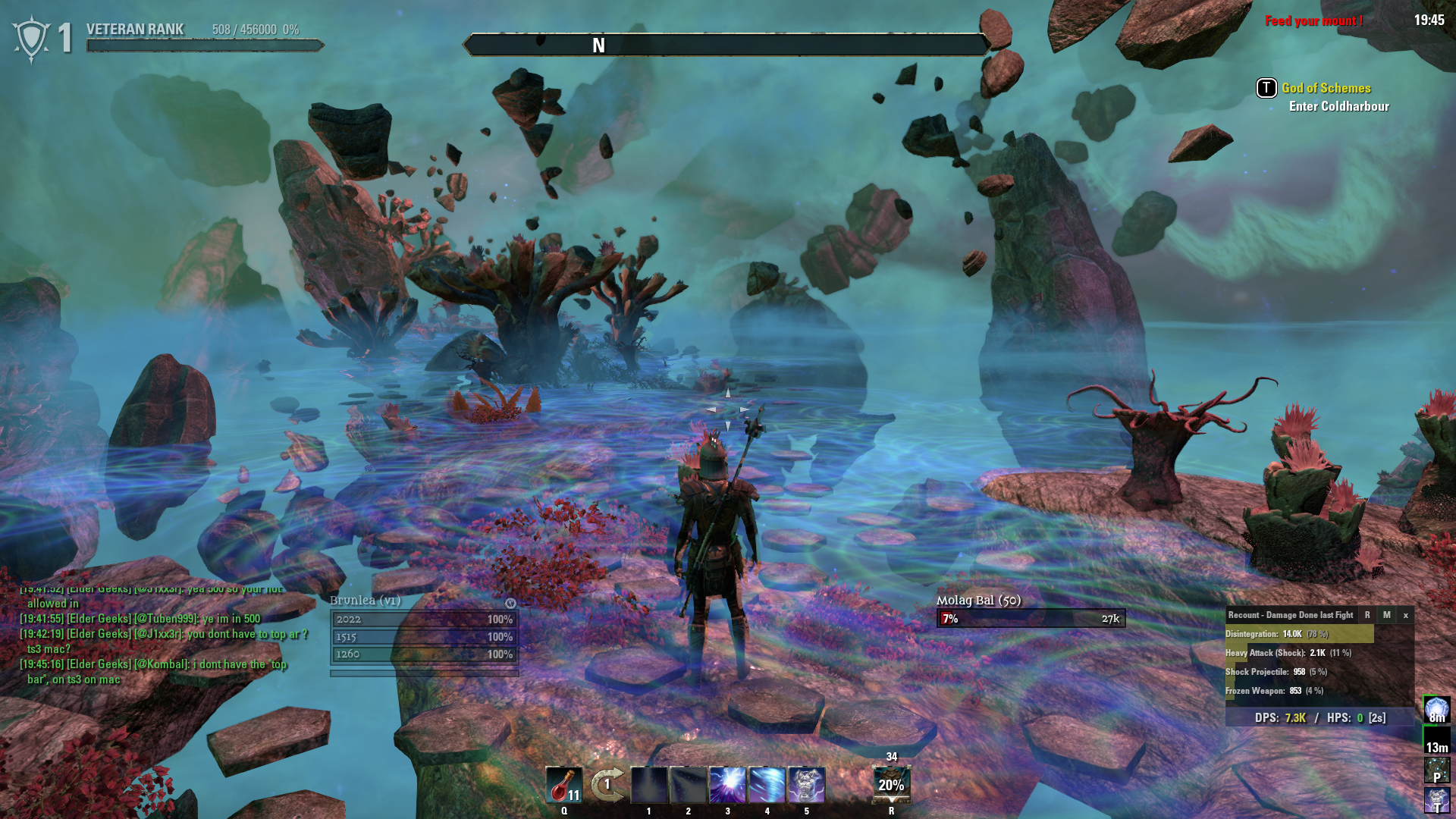 """Colored Rooms stuck in """"the colored rooms"""" after killing molag bal — elder"""