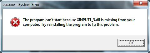 「Xinput1_3.dll」の画像検索結果