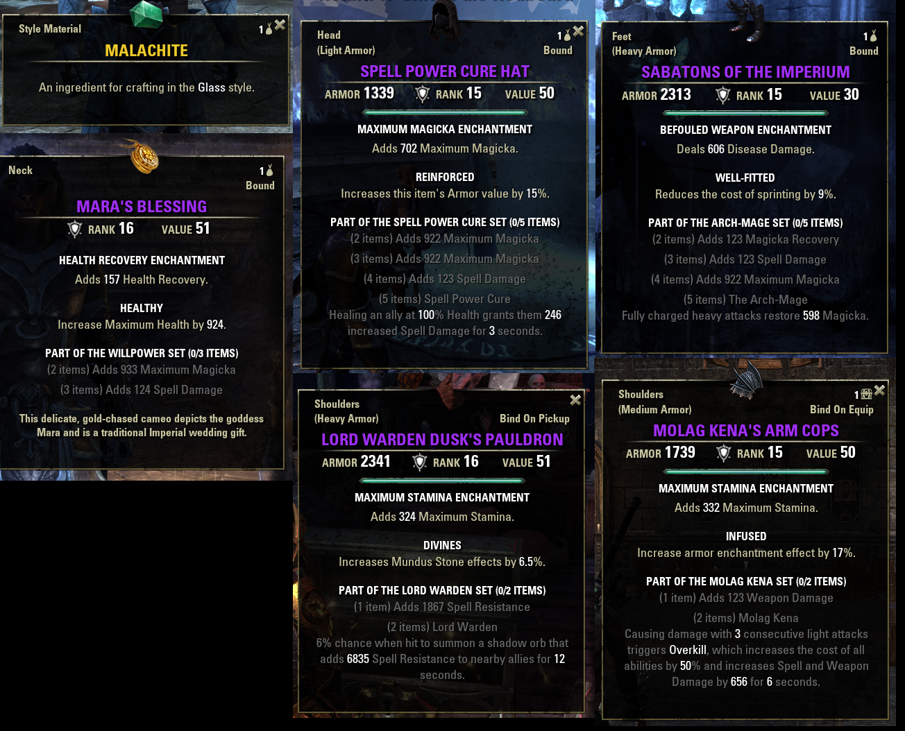infused trait eso