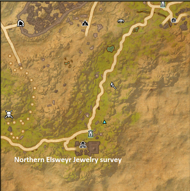Elsweyr Treasure Map