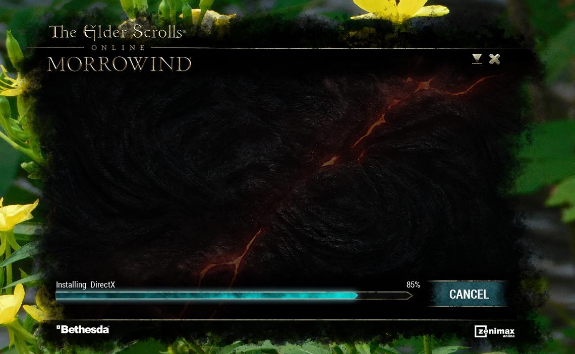 Installing game — Elder Scrolls Online