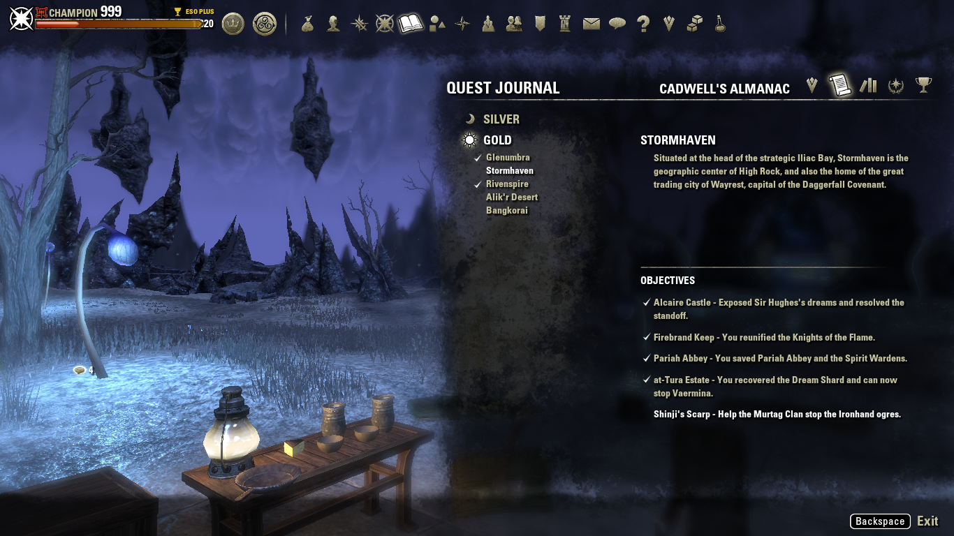 Quest Givers Missing For Cadwells Almanac Gold Quests Listed In