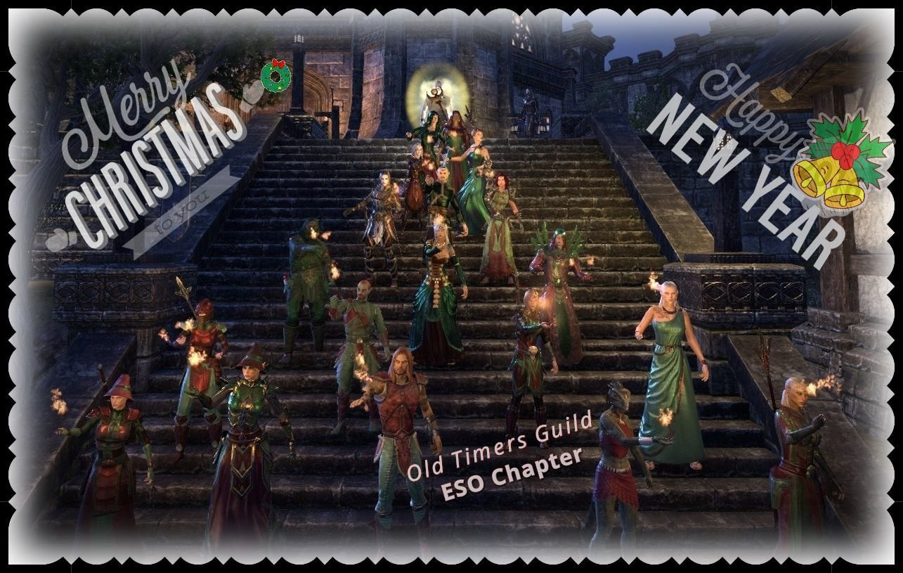 Merry Christmas ESO Community from Old Timers Guild - NA Server ...