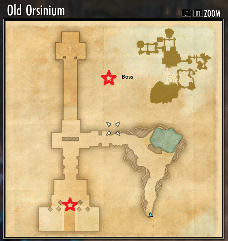 MAPS - Wrothgar Public Dungeon Bosses (Old Orsinium and