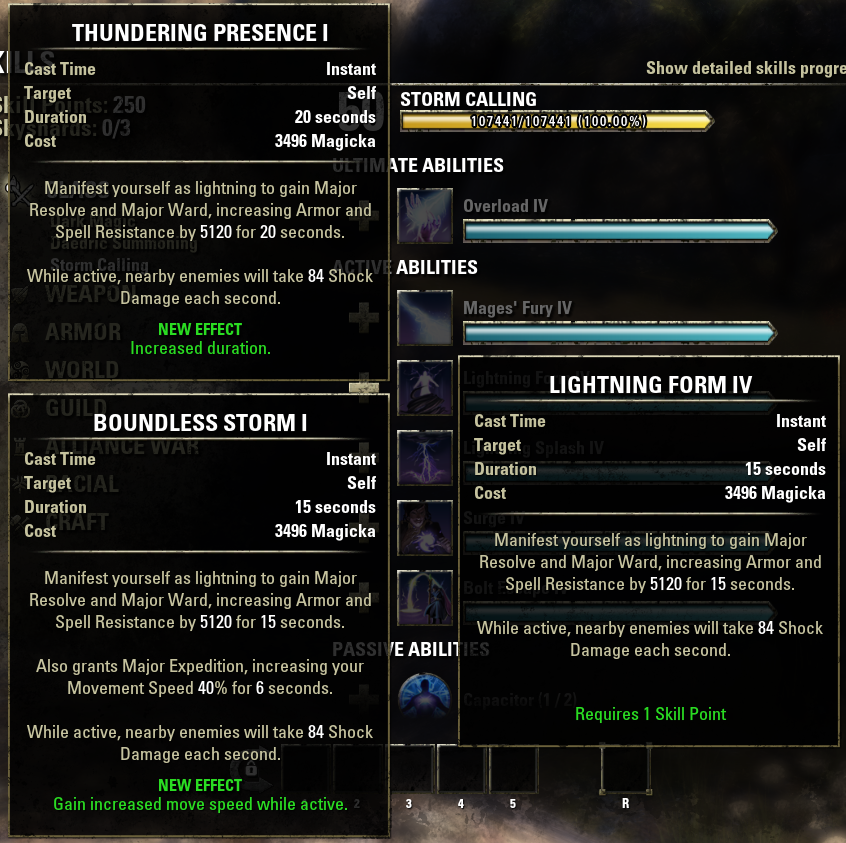 Update 1.6.4; Comprehensive class ability list and ways to balance ...