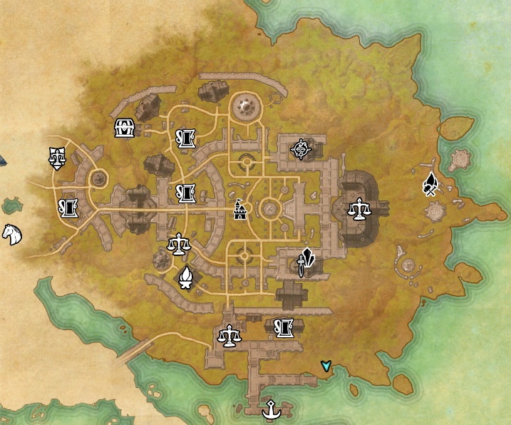 Eso Crafting Writs Fighters Guild Locations