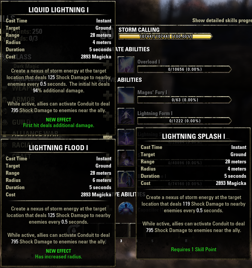 Update 1.6.2; Comprehensive class ability list and ways to balance ...