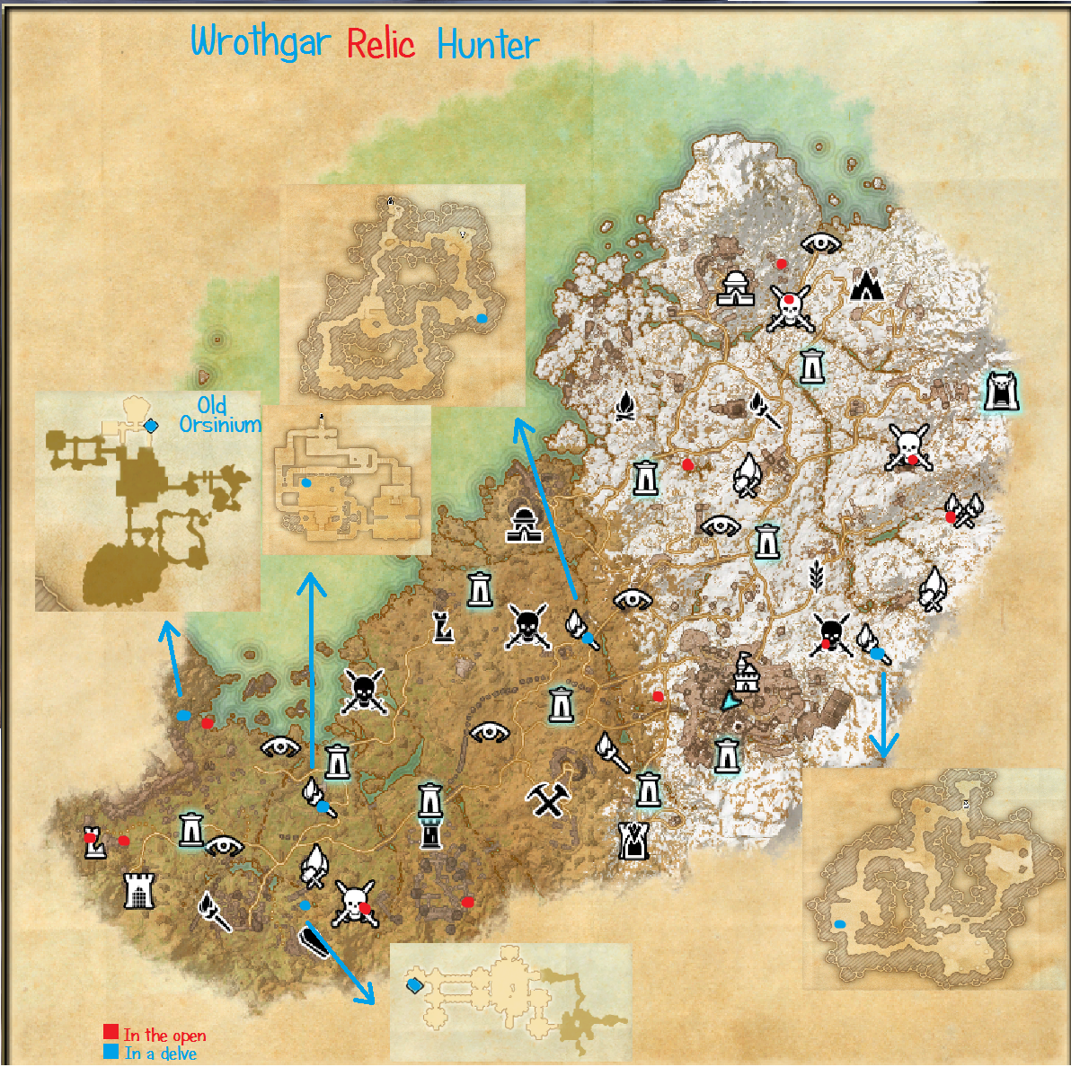 The hunt for wrothgar relic hunter conluded spoilers and for Online house map maker