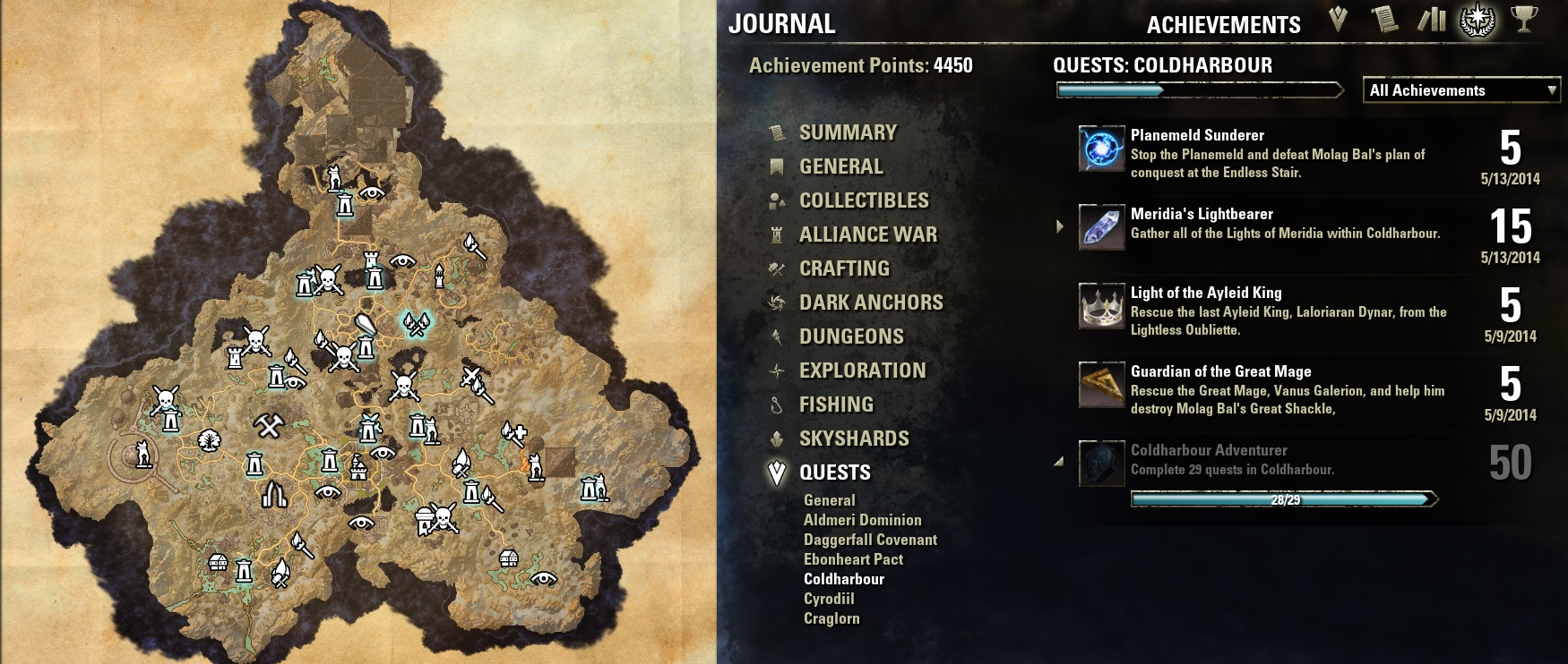 Eso Coldharbour Map My Blog