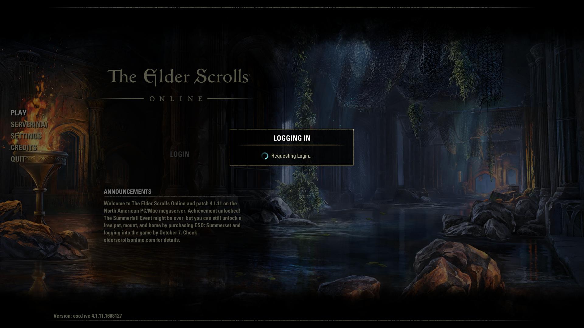 elder scrolls online download stuck