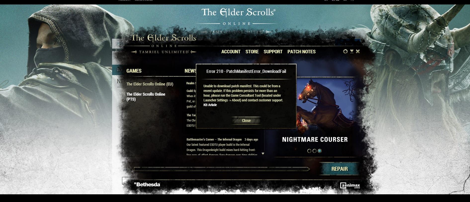 Avast blocking — Elder Scrolls Online
