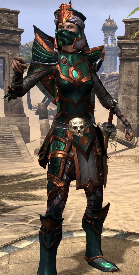 Redguard and Orc new armors — Elder Scrolls line