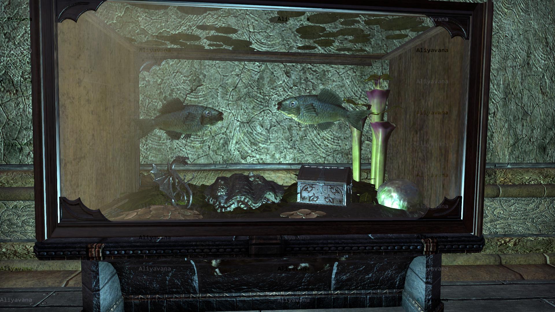 So I Made An Aquirium From Summerset Furnishings Elder Scrolls