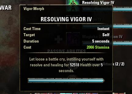Pvp vigor - Page 2 — Elder Scrolls Online
