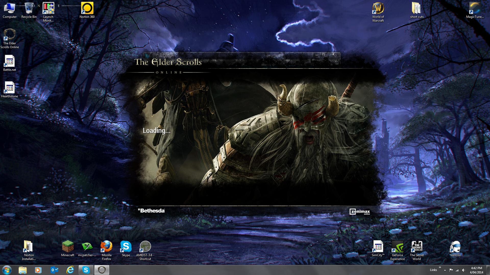 launcher Stuck at loading — Elder Scrolls Online