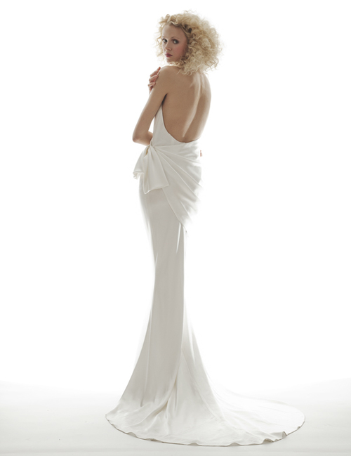 7d67e28038b Brand New at a Huge Discount! Satin Wedding Dress by Elizabeth ...