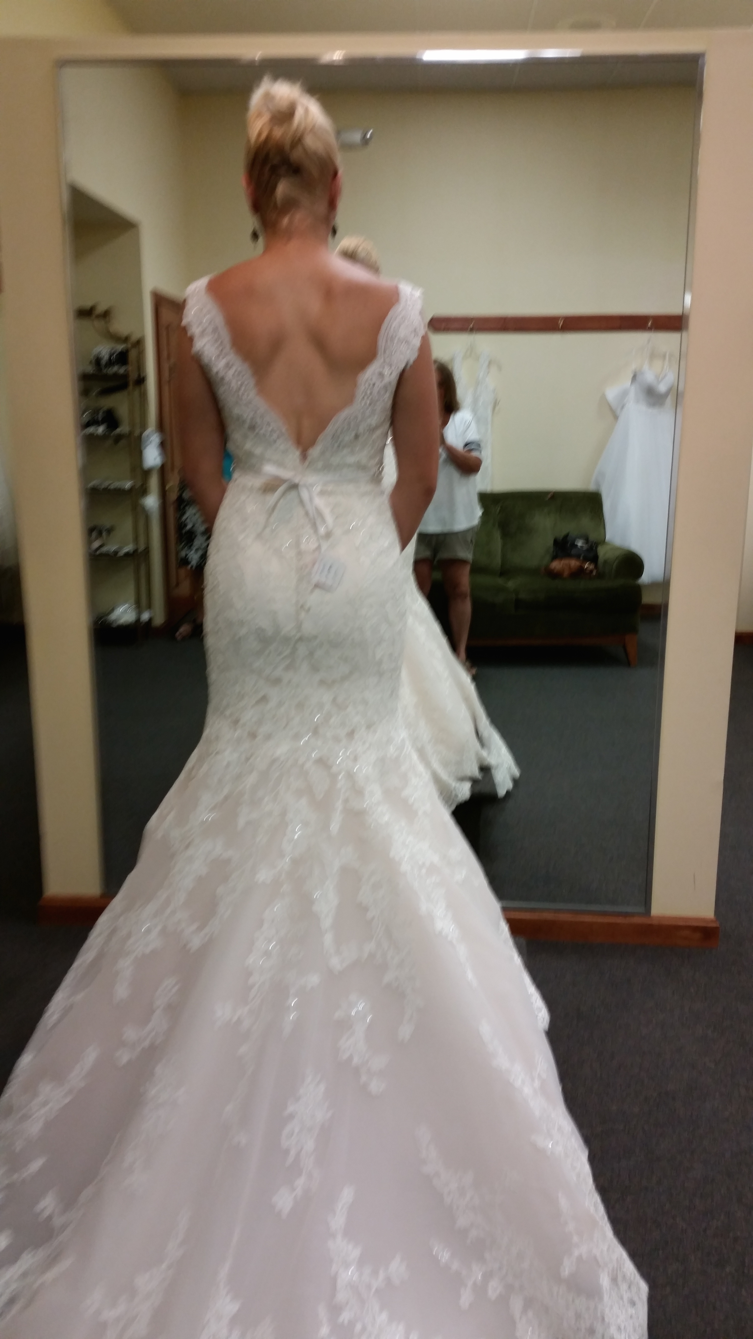 Altering dress backline? Has anyone else done this? — The Knot