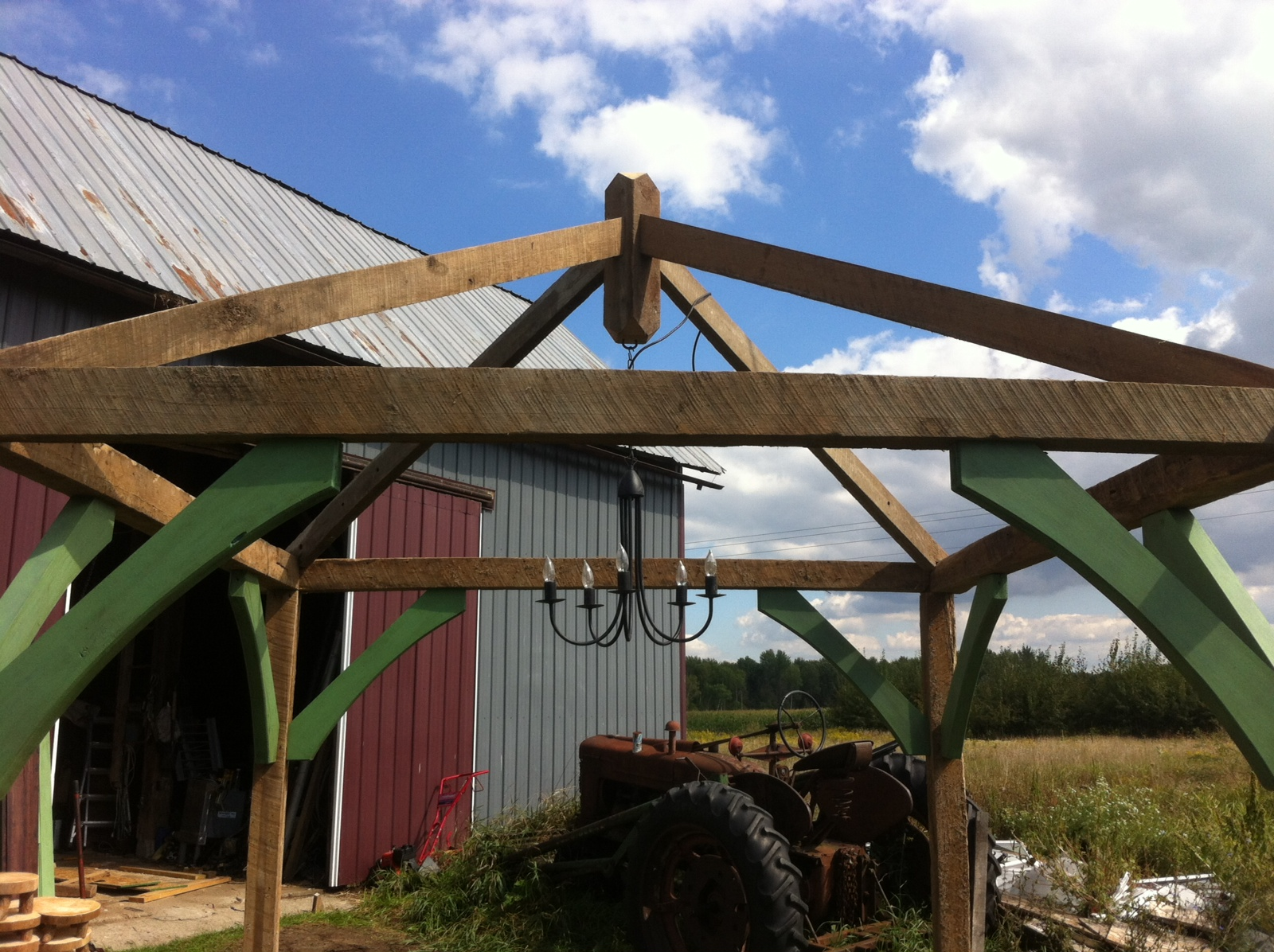 For Sale: Rustic Wedding Gazebo out of Old Barn Wood — The Knot