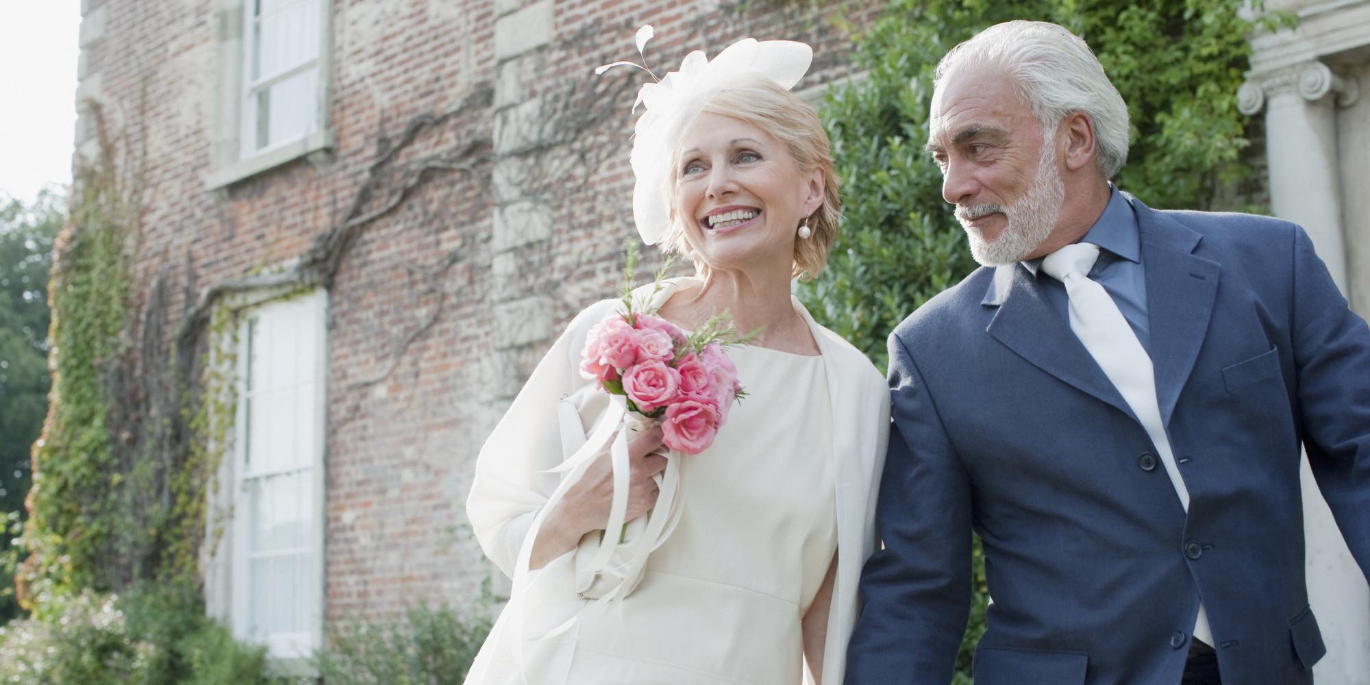 Свадебные поздравления для немолодых пар