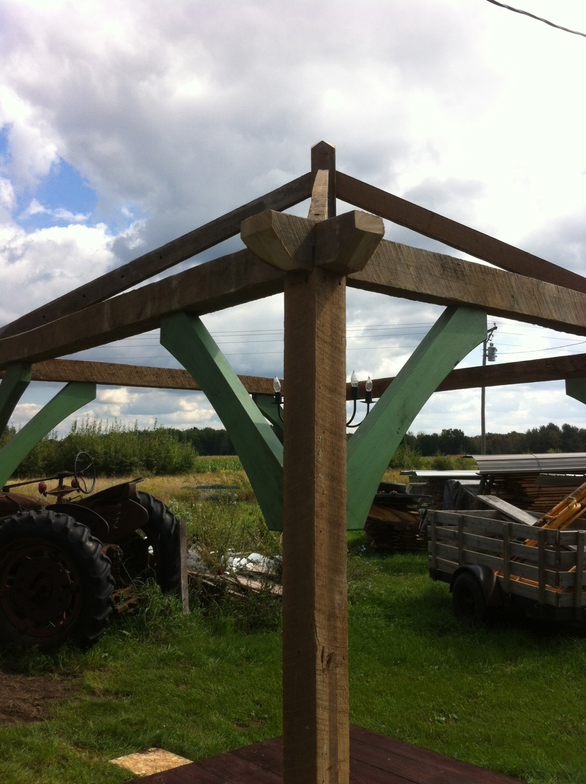 For Sale: Rustic Wedding Gazebo out of Old Barn Wood — The ...