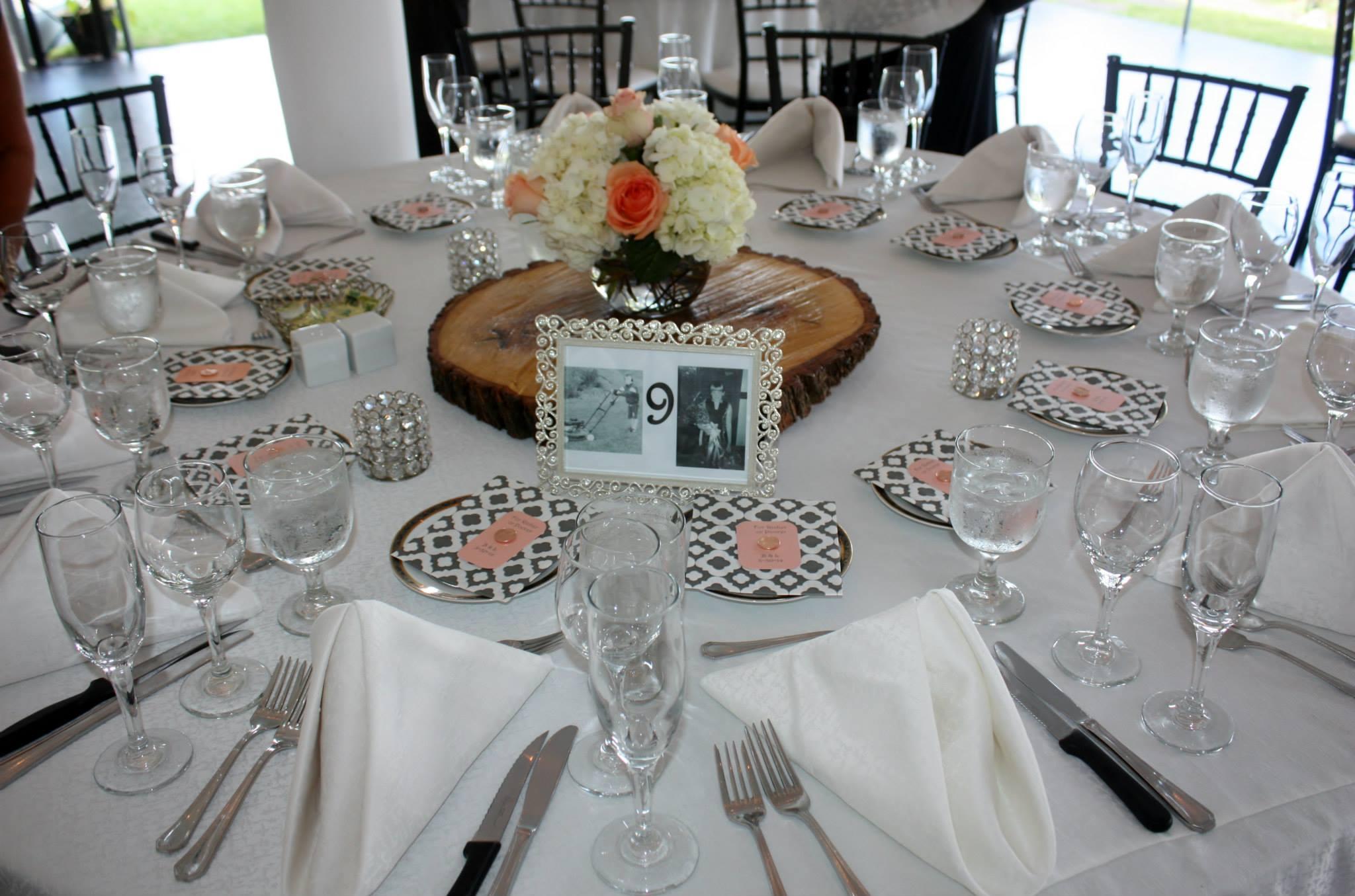 Rustic Wedding Decor-Wood Slices, Tall/Short