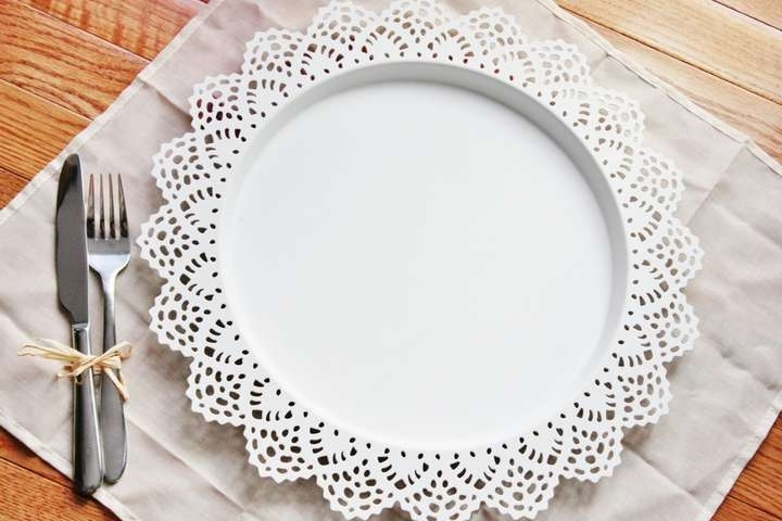 Well-liked LACE METAL CHARGER PLATES FOR SALE — The Knot GE84