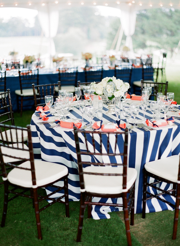 Striped Tablecloth ...