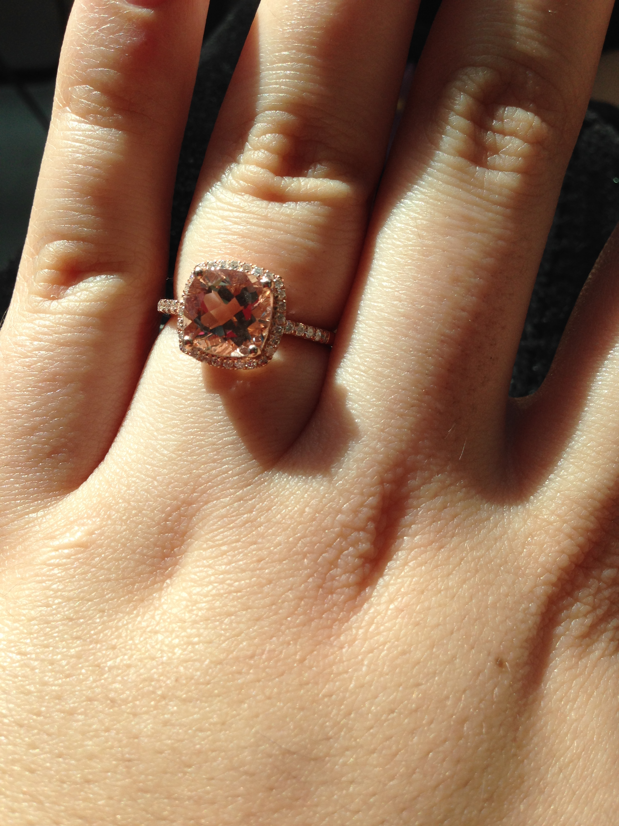 My Journey With A Morganite Engagement Ring Advice About Choosing Morganite For Your E Ring