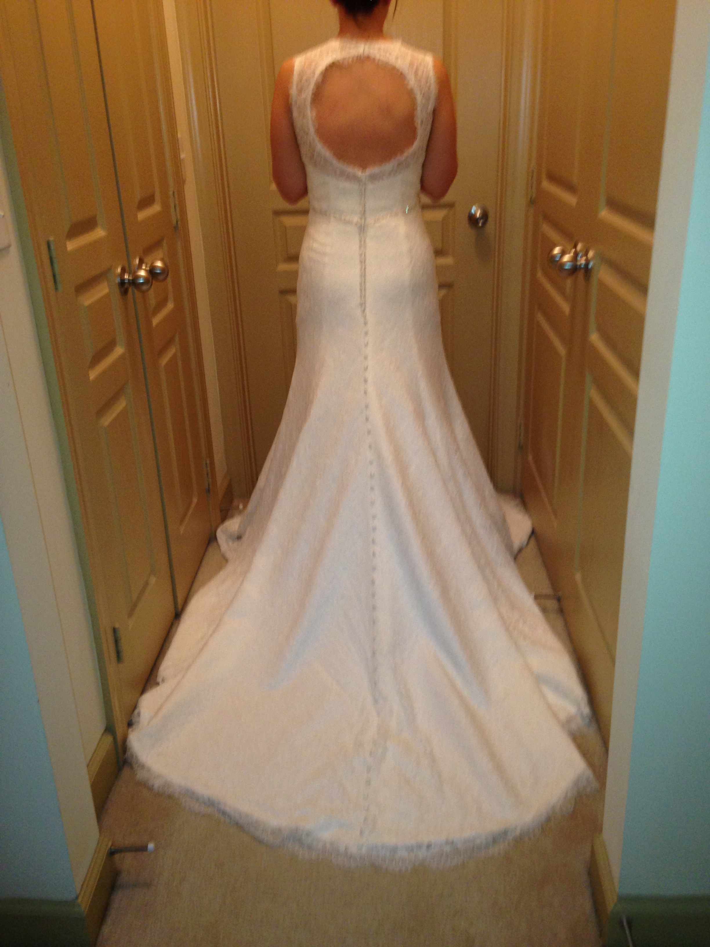 Selling my never worn or altered all lace wedding dress for How to sell wedding dress never worn