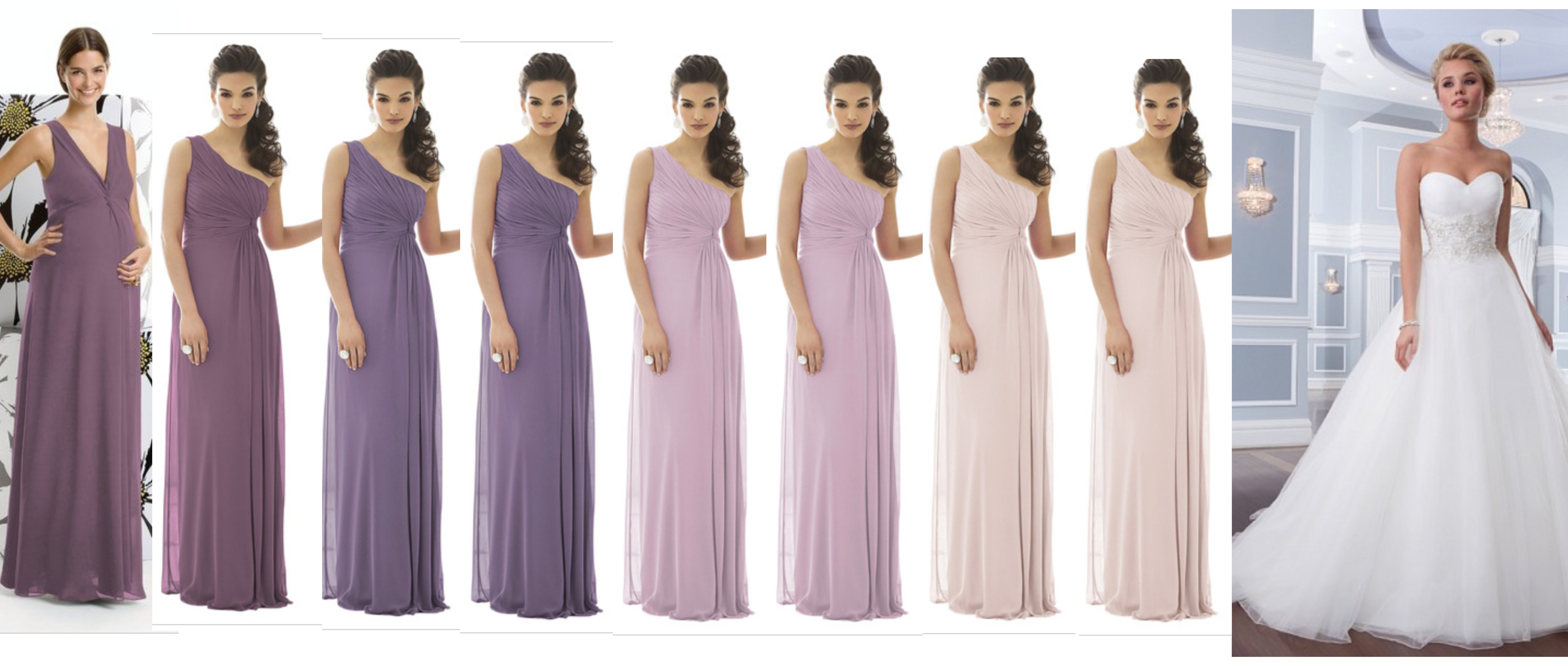 Ombre bridesmaid dresses the knot bmombreg 12m ombrellifo Gallery