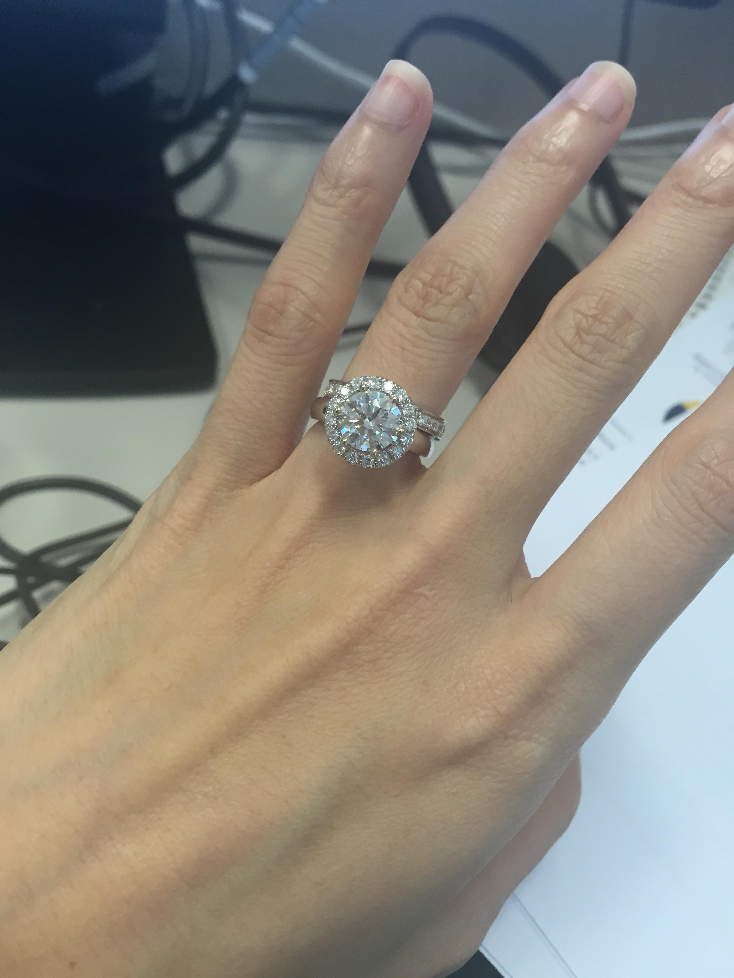 I Just Reset My Engagement Ring- Is It Tacky?