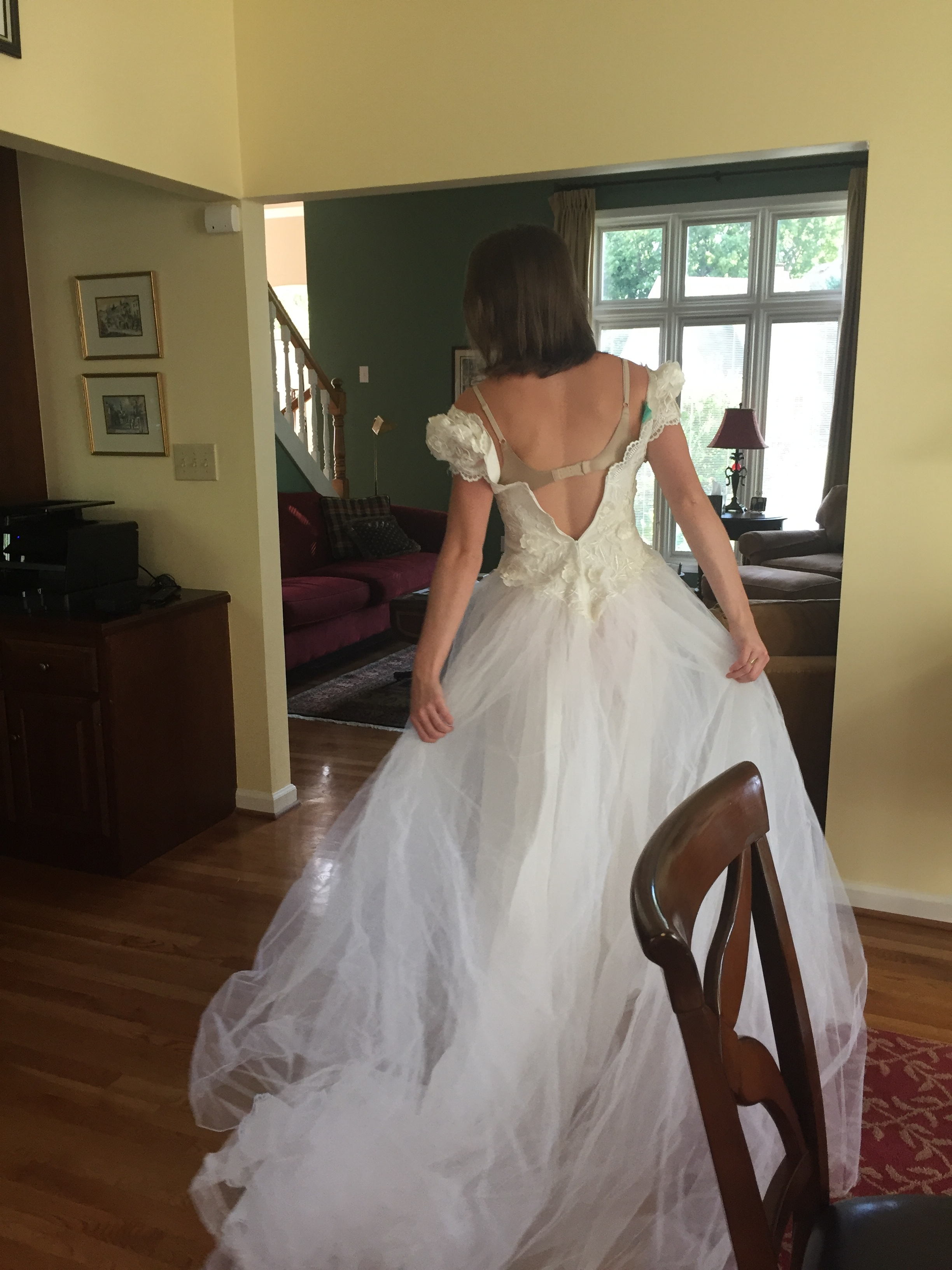 How to update my mom\'s 80s dress? — The Knot