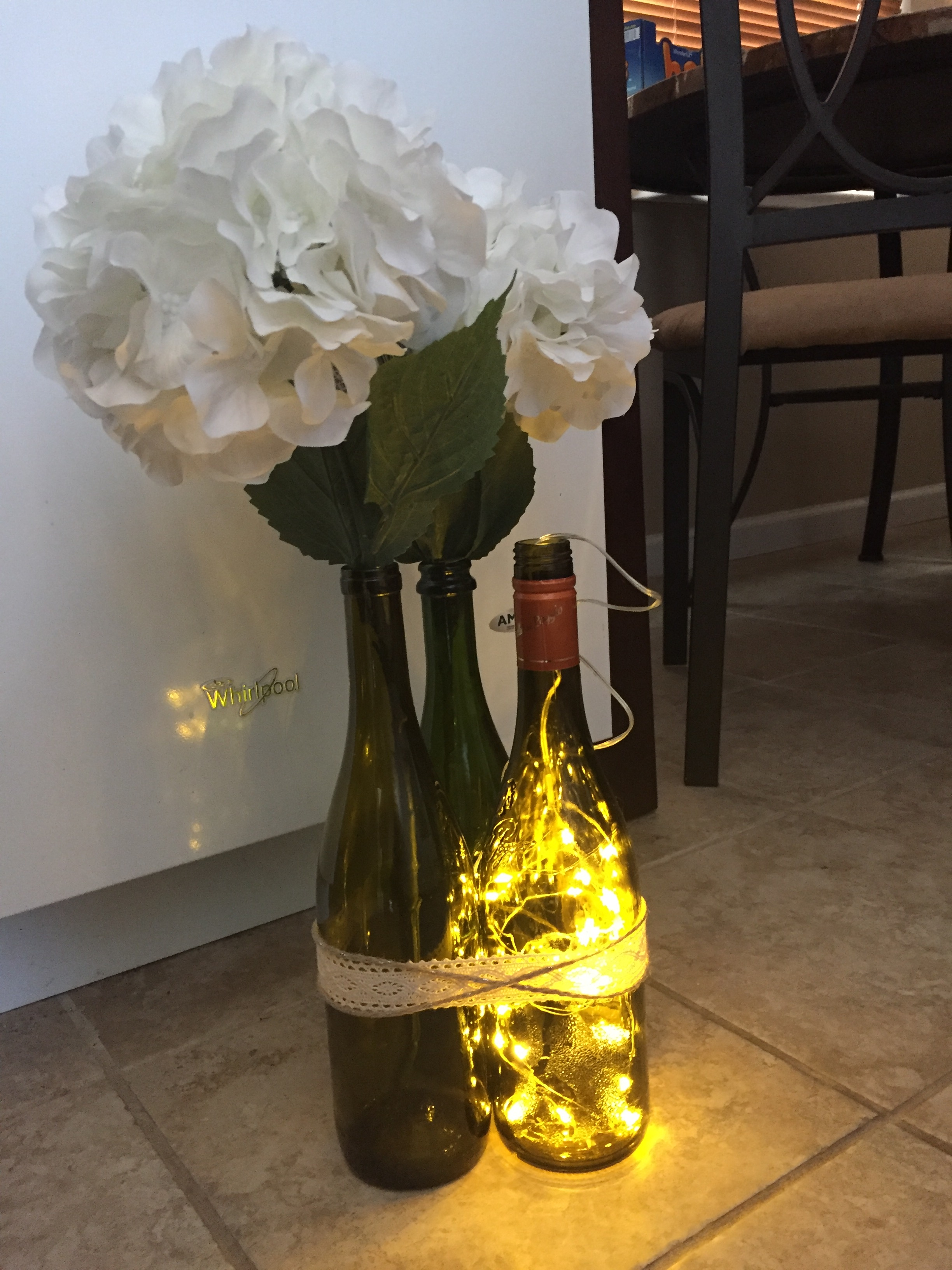 Wine Bottle Centerpieces — The Knot Community