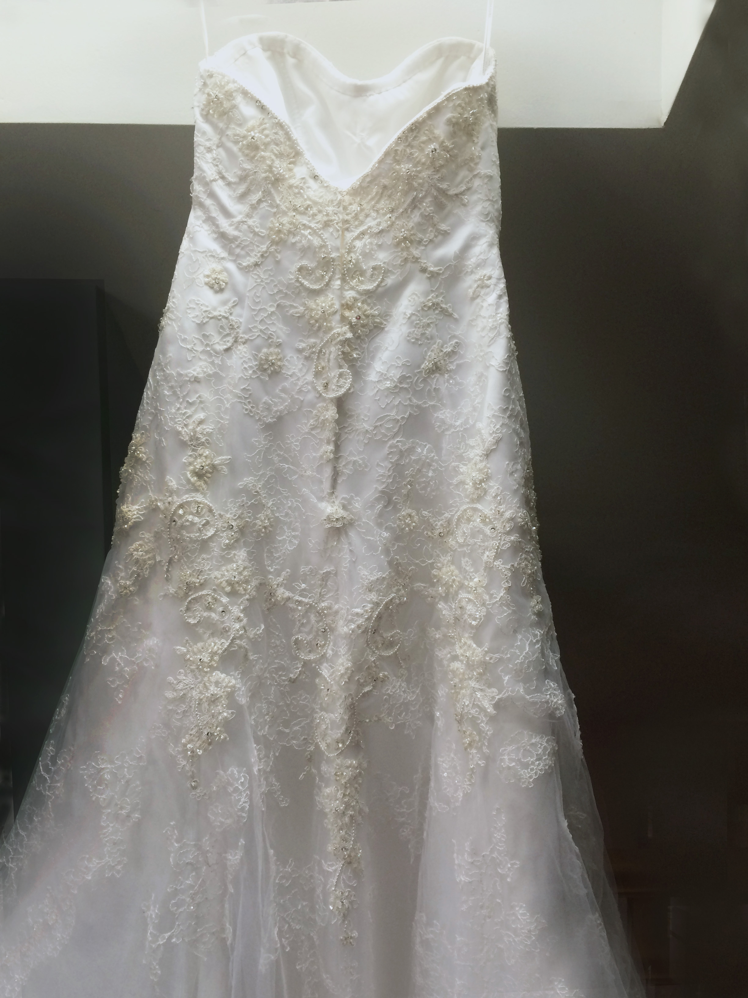 Selling Casablanca 1827 Wedding Dress Size 6 425 OBO The Knot