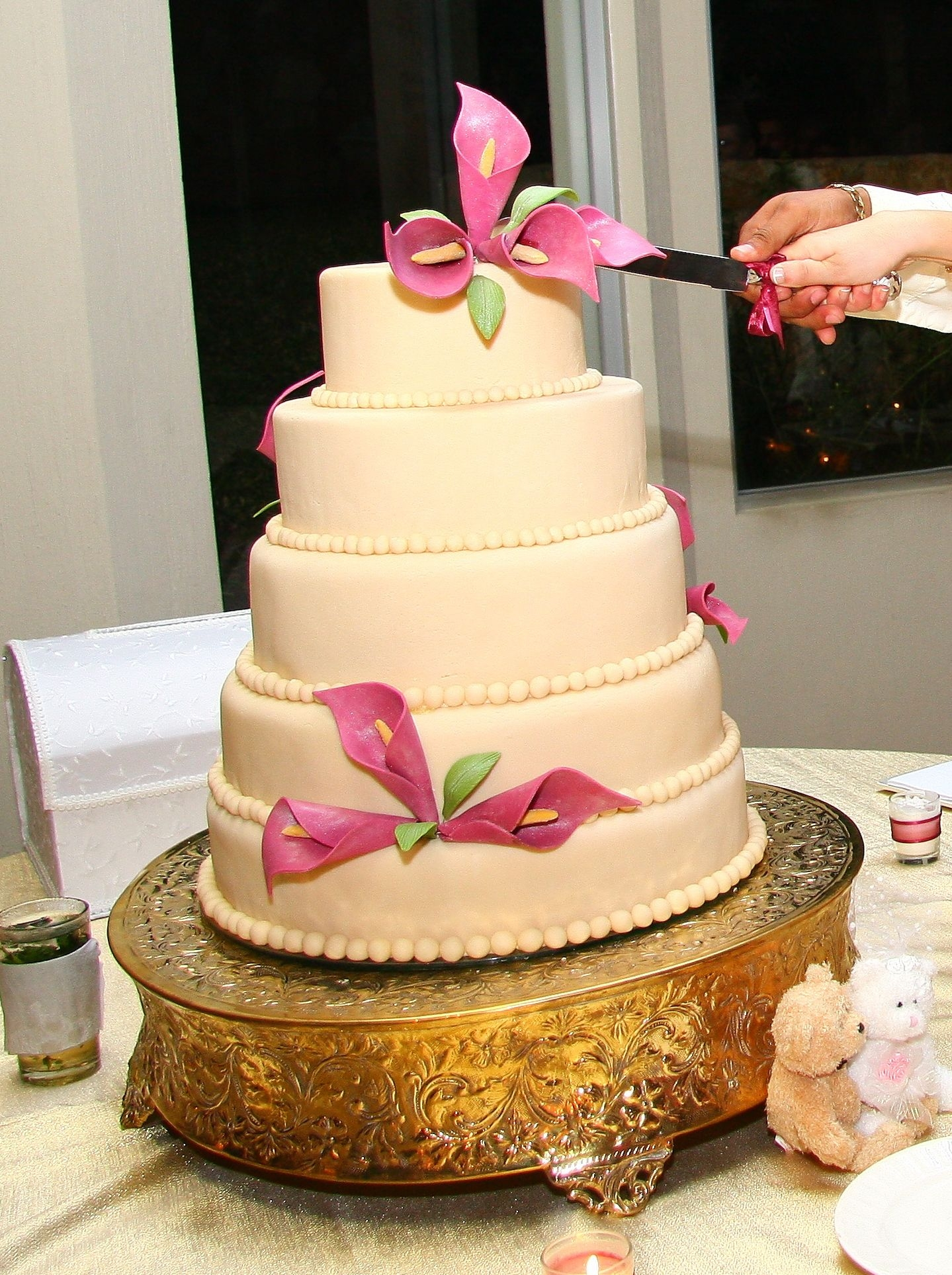 For Sale: Gold Plated Cake Base — The Knot
