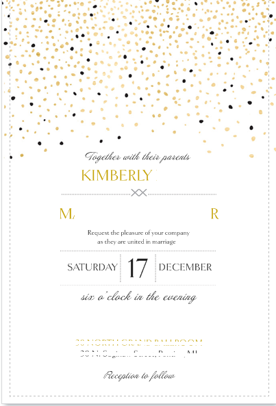Card pockets for vistaprint invitations the knot invitationg 1024k stopboris Gallery