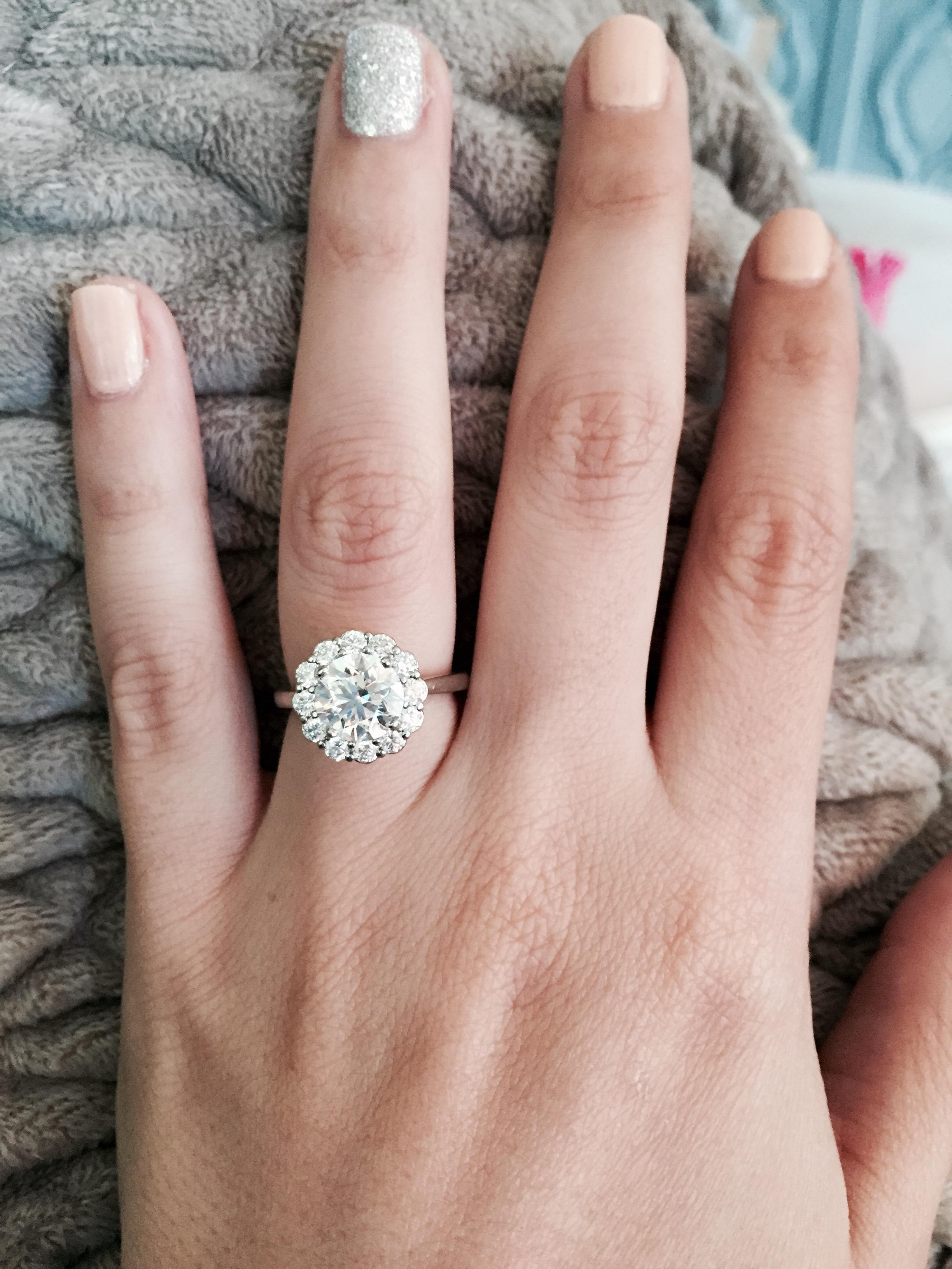 I think we need an engagement ring thread!! — The Knot