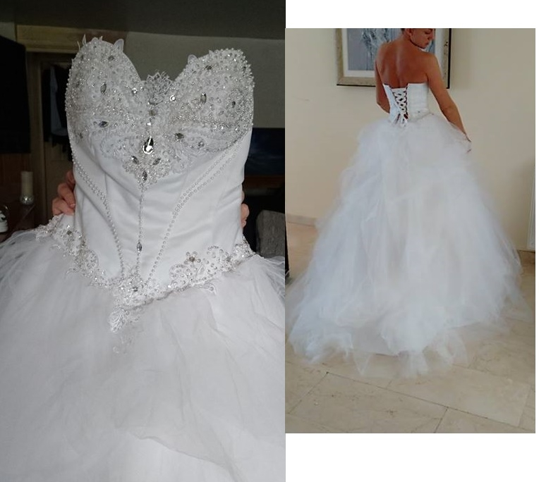 Dressilyme Wedding Dress Too Short Bad Fit The Knot