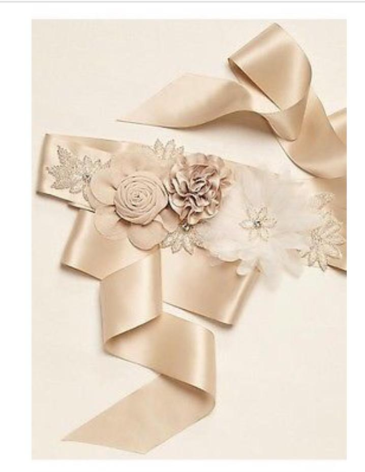 David S Bridal Wedding Belts Fashion Dresses